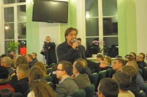 Юрий Шевчук, выступление в стенах Духовной Академии