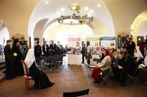 Патриарший визит в Санкт-Петербург. Встреча с координаторами и руководителями проектов конкурса «Православная инициатива» Санкт-Петербургской митрополии